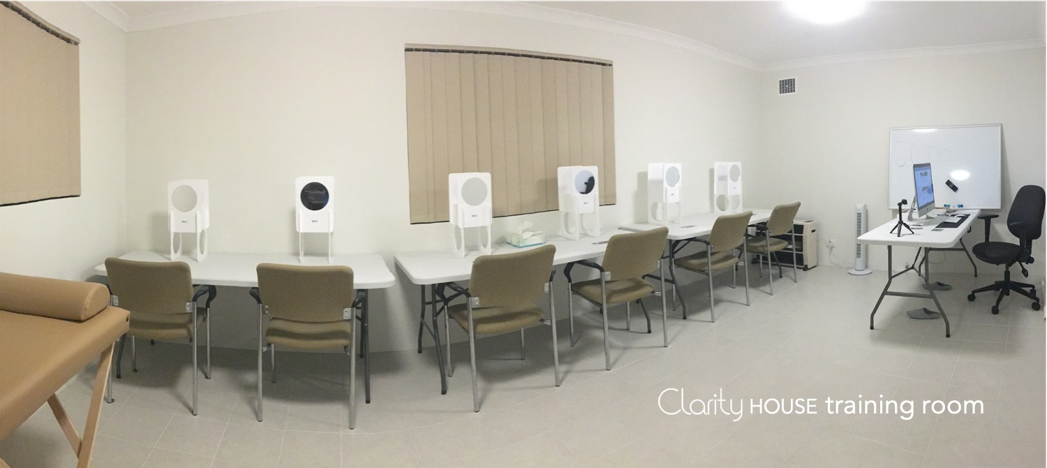 Clarity rooms